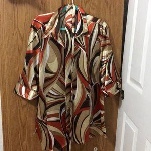 Cato Pucci print blouse, size 22/24